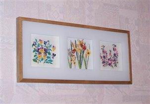 Цветочный триптих
