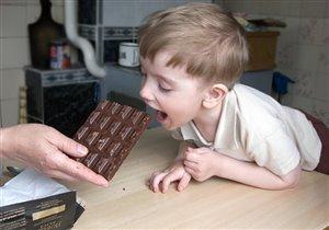 Чем больше шоколадка, тем больше удовольствия!