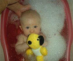 игрушки тоже любят купаться