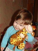 фото с игрушкой