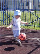 Будущий футболист :)