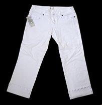 Белые джинсы GINA BERG