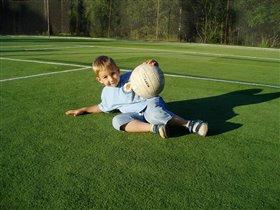Мой сыночек-футболист