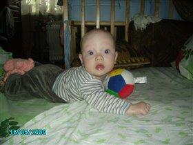 Мой первый мяч!