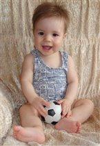 Юный футболист 10 месяцев от роду :)