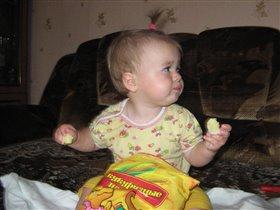 сладкие палочки ем я опять, будут щечки мои на 5