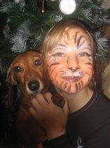 Под елочкой-одни тигры!