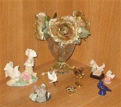 коллекция голубок (подарки друзей и родных)