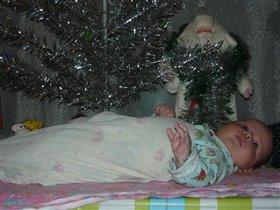 Новогодний подарочек под елочкой