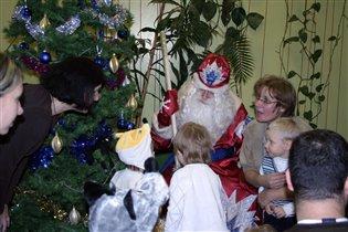 Обменяемся подарками с Дедом Морозом?