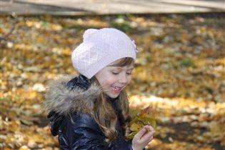 Золотые листочки осени....