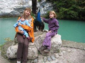 Абхазия, Голубое озеро