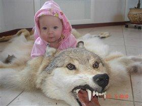 Львица верхом на волке