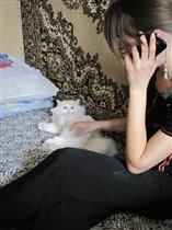 котик и сестра