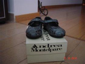 Andrea Montelpare туфли детские р 21 новые