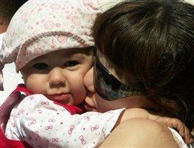 Моя радость - дочка Феличия