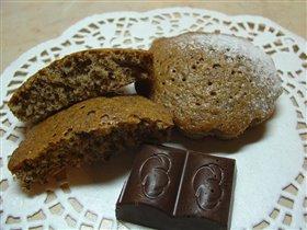 Кексы с шоколадом
