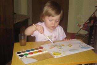 Рисование - любимое занятие