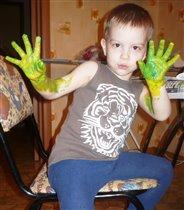 Эксперимент с цветом красок
