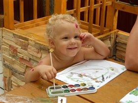 Рисуем вместе с дедушкой!