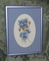 Голубые цветочки от Lanarte