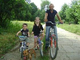 Вся велосипедная наша семейка
