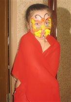 мам, я похожа на бабочку?