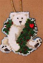 Holiday Polar Bear by Mill Hill