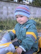 юный мотоциклист