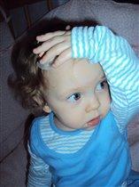 Моя задумчевая малышка!