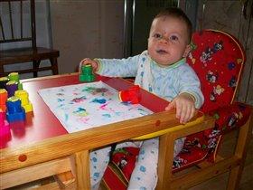 Настоящий художник!