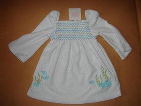 Белое платье Janie and Jack