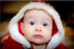 Маленький Санта. Нам 4,5 месяца