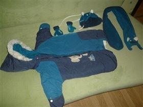 Конверт Gusti 0-3 с шапкой, шарфом и варежками