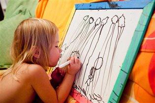 -'Мама, я худоЗница,.. нАстоящая худоЗница!.'