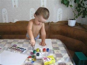 я стану великим художником!!!))
