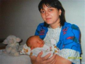 Первый день, первый сон у мамы на руках