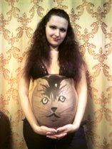 Я и наш Котёнок ! 3 (28-29 недель)