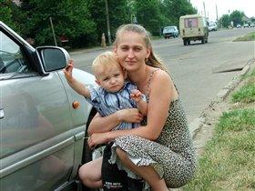 Я и мой сынуля Ромашка))))