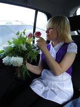мы с дочкой очень любим цветочки)))5 месяцев