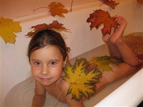 Золотая осень в ванной