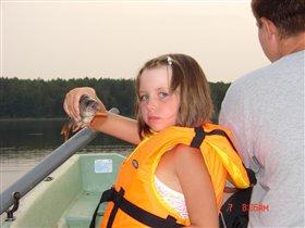 Ульянка - первый улов