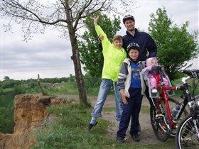 Папа, мама, я, сестра - велогонщиков семья.