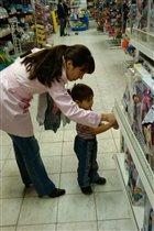 Шоппинг с мамой