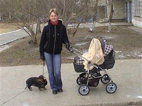 Гуляем с сыном