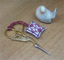 крошечный маячок и чудесные ножнички-цапельки