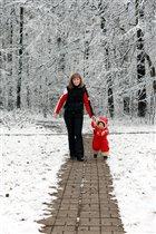 прогулка с любимой мамочкой 4