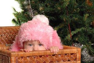 Подарок под елкой.