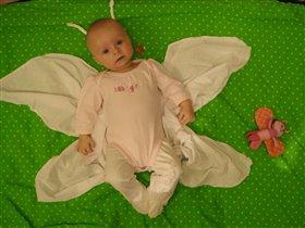 Baby лапочка непоседа-бабочка )))