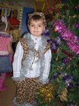 Леопард на празднике